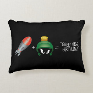 MARVIN THE MARTIAN™ Emoji Equation Decorative Cushion