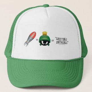 MARVIN THE MARTIAN™ Emoji Equation Trucker Hat
