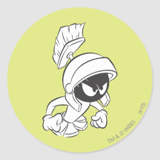 MARVIN THE MARTIAN™ Expressive 2 Round Sticker