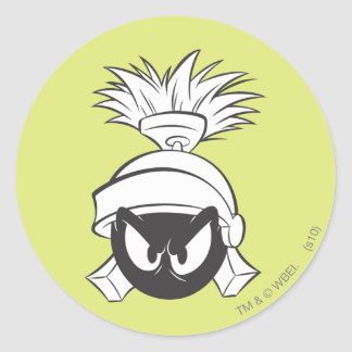 MARVIN THE MARTIAN™ Expressive 5 Classic Round Sticker