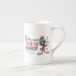 MARVIN THE MARTIAN™- I'm On The Naughty List? Tea Cup