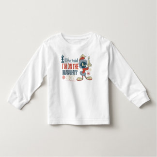 MARVIN THE MARTIAN™- I'm On The Naughty List? Toddler T-Shirt