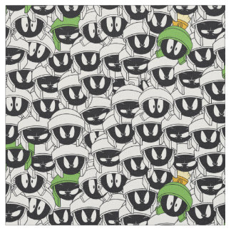 MARVIN THE MARTIAN™ Line Art Color Pop Pattern Fabric