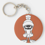 MARVIN THE MARTIAN™ Mad at You Basic Round Button Key Ring
