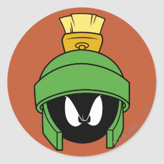 MARVIN THE MARTIAN™ Mad Round Sticker