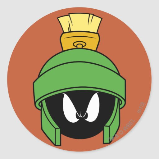 Marvin the Martian Mad Stickers