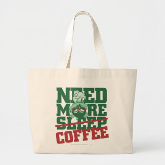 MARVIN THE MARTIAN™ - Need More Coffee Canvas Bag