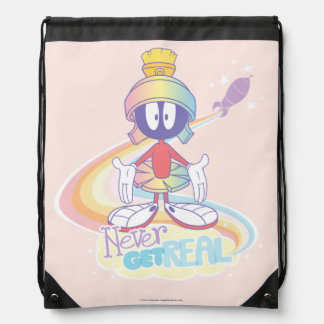 MARVIN THE MARTIAN™ Never Get Real Drawstring Bag