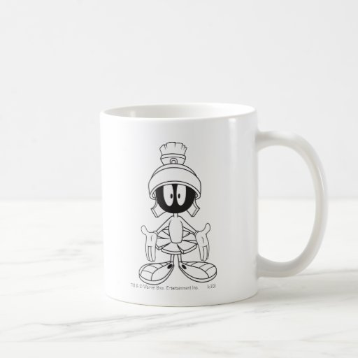 Marvin the Martian Open Arms Coffee Mugs