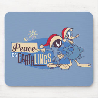 MARVIN THE MARTIAN™- Peace On Earthlings Mouse Pad