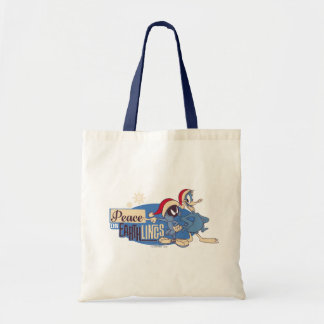 MARVIN THE MARTIAN™- Peace On Earthlings Tote Bag