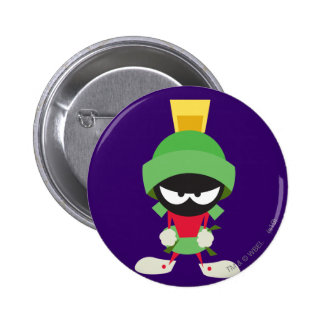 MARVIN THE MARTIAN™ Ready to Attack 6 Cm Round Badge