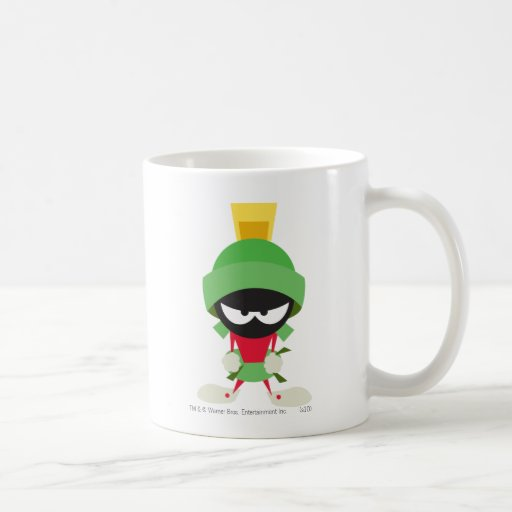 Marvin the Martian Ready to Attack Coffee Mugs