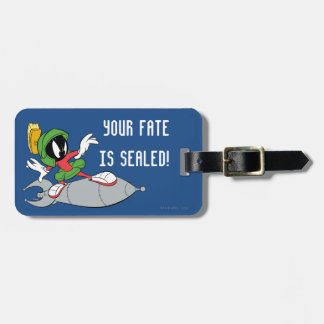 MARVIN THE MARTIAN™ Riding Rocket Luggage Tag