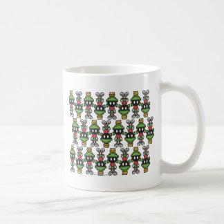 MARVIN THE MARTIAN™ Tiling Pattern Basic White Mug
