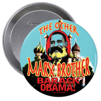 Marx Brother anti Obama Shirt Pinback Button