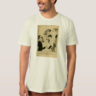 Marx Brothers 1924 caricature comedy team silent T-Shirt