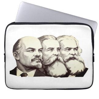 Marx, Lenin and Engels Laptop Sleeve