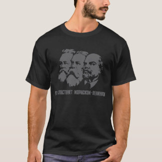 Marx, Lenin English T-Shirt