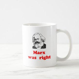 marx was right #2 coffee mug