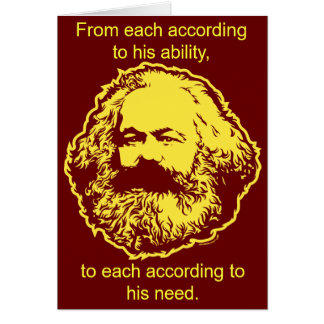 Marxist Birthday Card