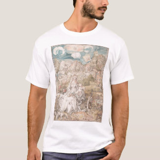 Mary Among a Multitude of Animals by Durer T-Shirt