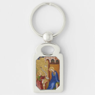 Mary and Angel of Annunciation Key Ring