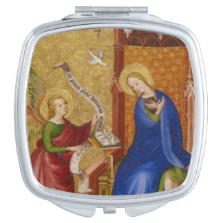 Mary and Angel of Annunciation Makeup Mirror
