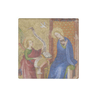 Mary and Angel of Annunciation Stone Magnet
