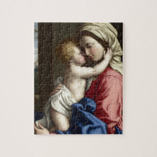 Mary and baby Jesus Art Jigsaw Puzzle
