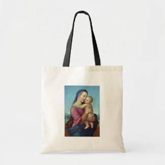 Mary And Christ Child By Raffael (Best Quality) Budget Tote Bag