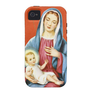 Mary  and Jesus iPhone 4/4S Case