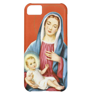 Mary and Jesus iPhone 5C Covers