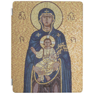 Mary And Jesus Mosaic iPad Cover