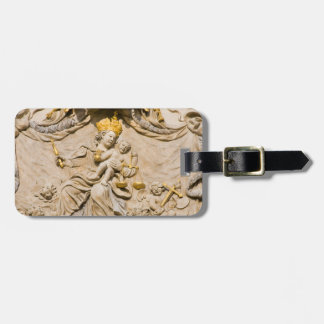 Mary and Jesus Prague House Sign Luggage Tag