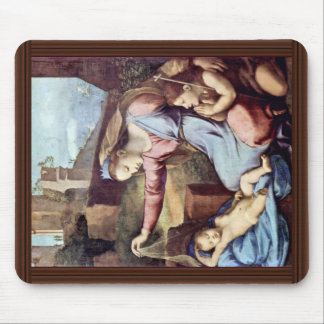 Mary And John The Baptist, Pray To The Sleeping Mouse Pad
