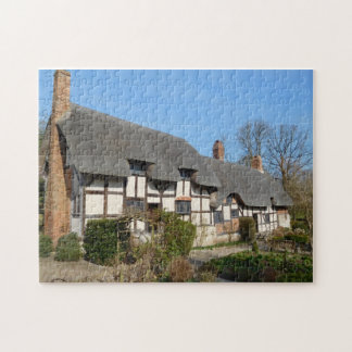 Mary Arden Cottage Stratford Upon Avon. Jigsaw Puzzle