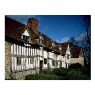 Mary Arden's House Postcard