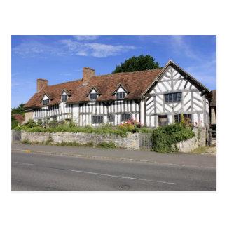 Mary Arden's Tudor House Postcard