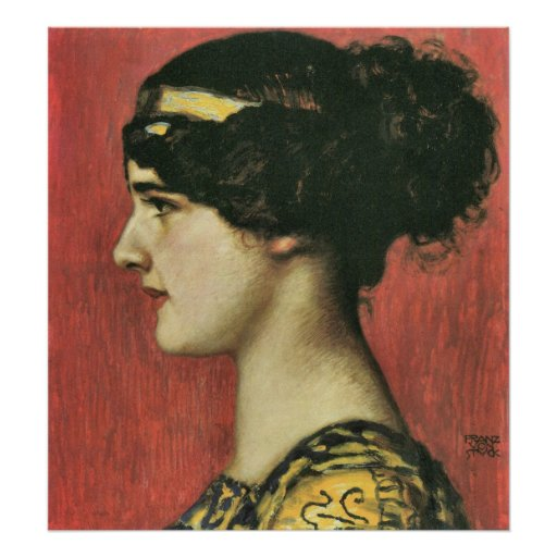 Mary as a Greek by Franz von Stuck Posters