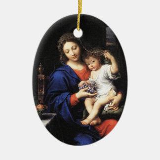 Mary Baby Jesus Ornament