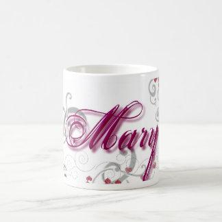 Mary Basic White Mug