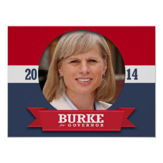 MARY BURKE CAMPAIGN PRINT