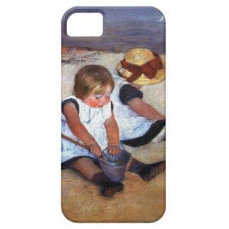 Mary Cassatt Children On The Beach iPhone 5 Cases