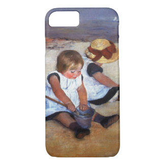 Mary Cassatt Children On The Beach iPhone 8/7 Case