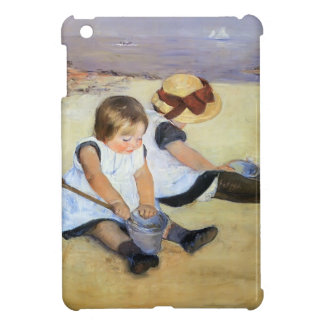 Mary Cassatt- Children Playing On The Beach iPad Mini Cover
