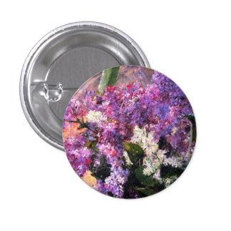 Mary Cassatt Lilacs Button