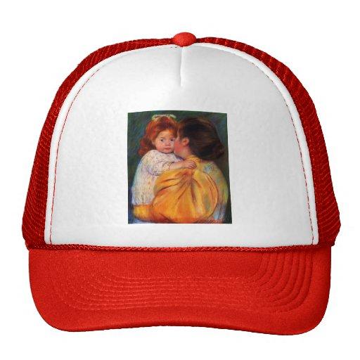 Mary Cassatt- Maternal Kiss Mesh Hat