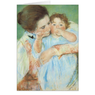 Mary Cassatt - Mother and Child Greeting Cards