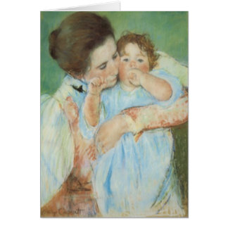Mary Cassatt Mother and Child Mother s Day Card
